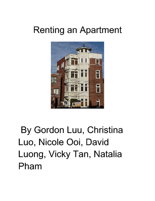 Renting an Apartment
