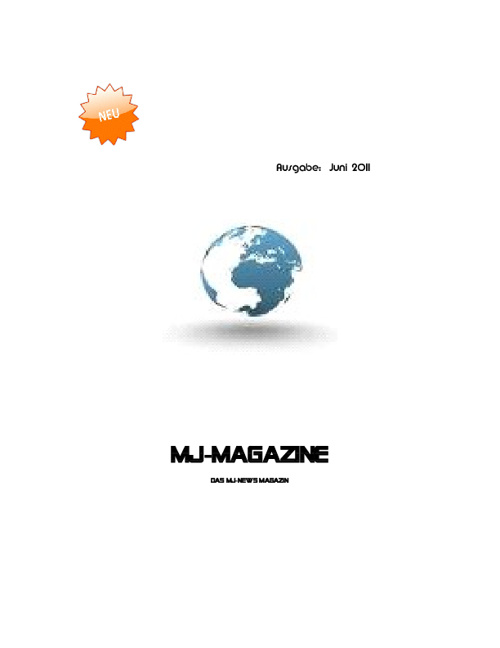 MJ Magazine 1.Ausgabe