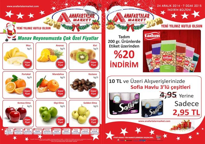 Anafartalar Market Yeni Yıl Fırsatları