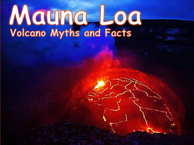 Mauna Loa volcano Instructional Comic