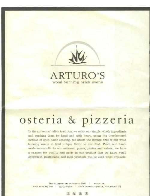 Maplewood - Arturo's