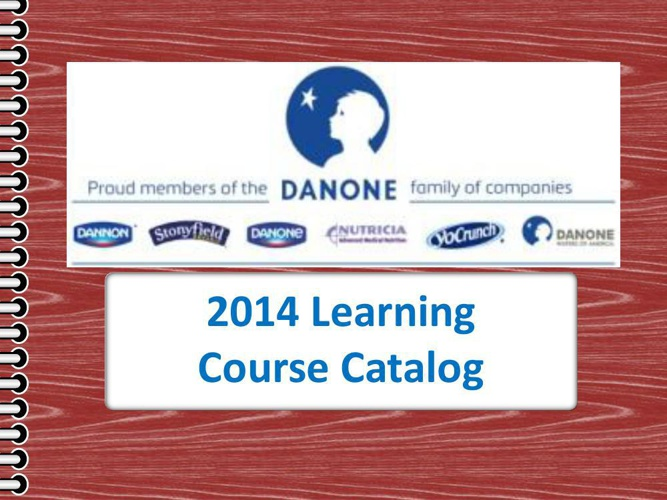 2014 Learning Catalog Revised