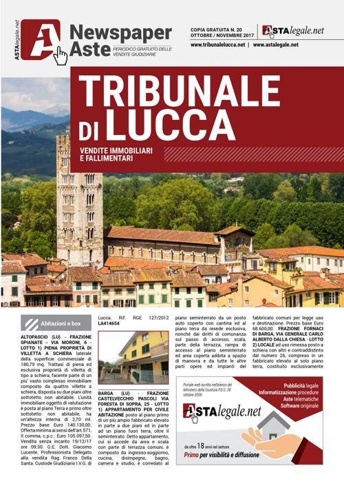 Lucca ottobre novembre 2017