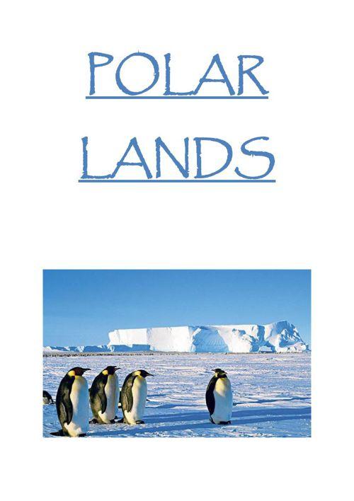Polar Lands Booklet
