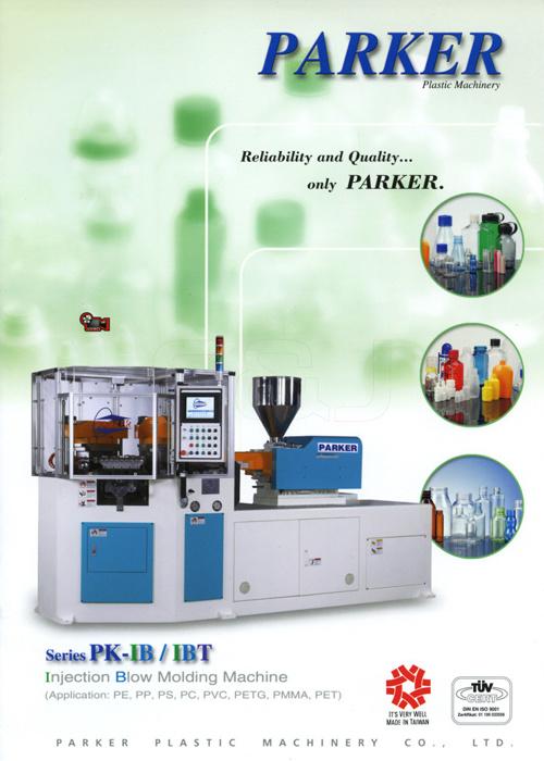 PARKER. Injection Blow Moldin Machine