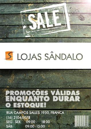 Lojas Sândalo - FB.com/InMake