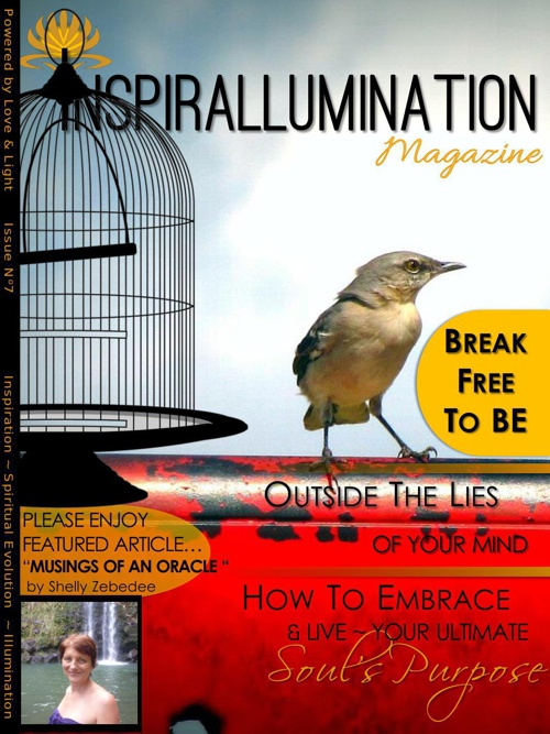 """Inspirallumination Magazine Issue 7 - """"Musings of An Oracle"""" by"""
