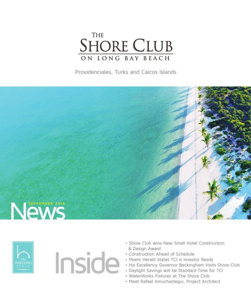 The Shore Club Newsletter | September 2014