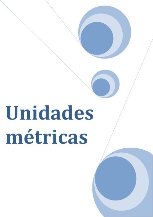 Unidades métricas