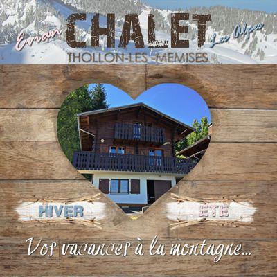 Chalet privé - Le Perce Neige - Vue Lac & Montagne