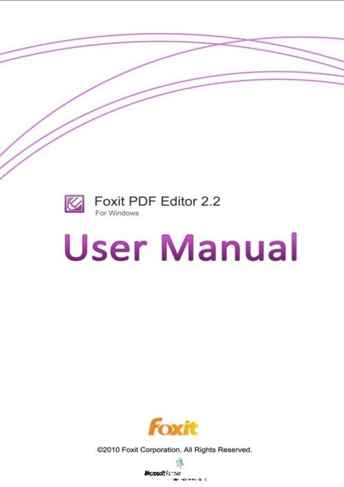 Foxit Editor PDF 2.2