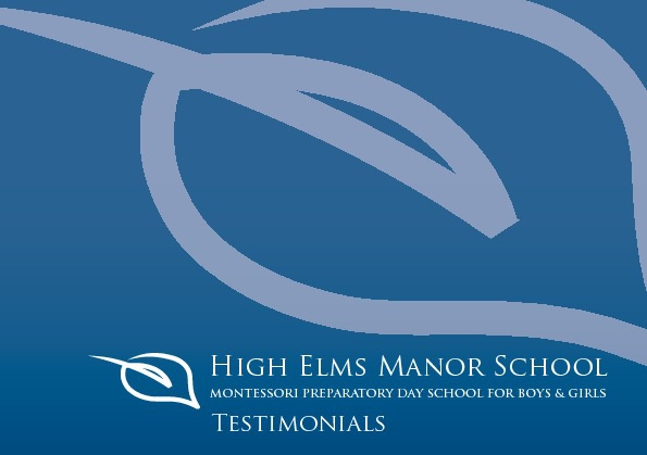 High Elms Manor - Testimonials