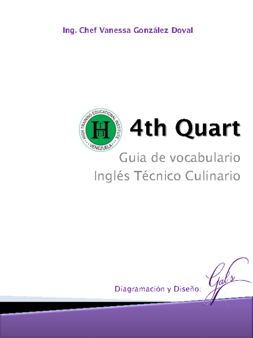 4th Quart - Teacher guidebook