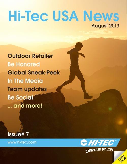 Hi-Tec USA News August 2013