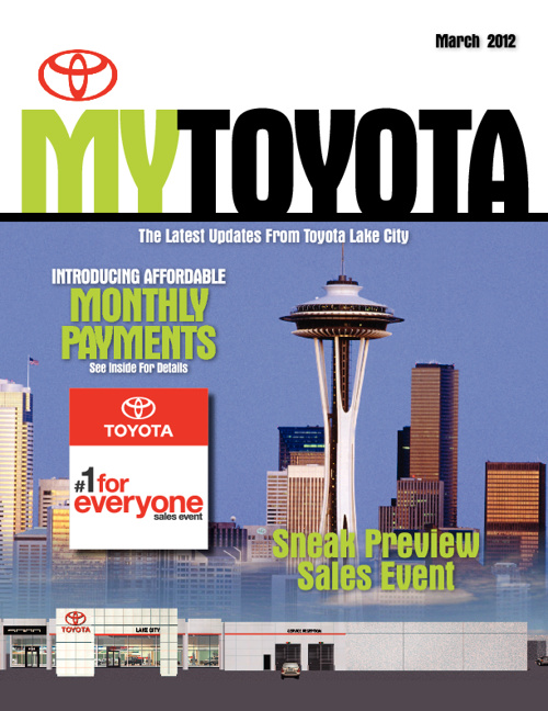 Toyota Lake City March Issue