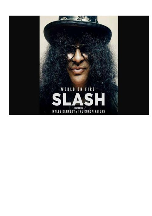 Slash is one of my favourite guitar