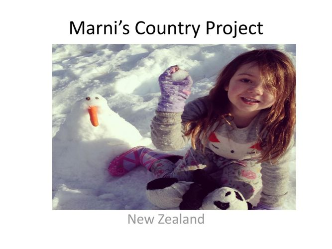 Marni's country project