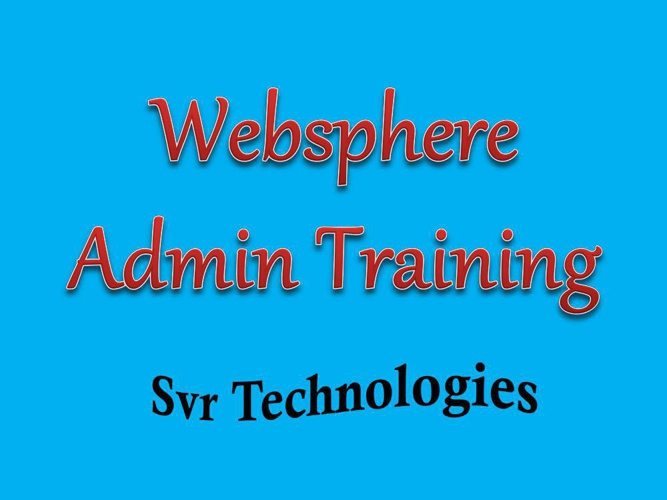 websphere admin training