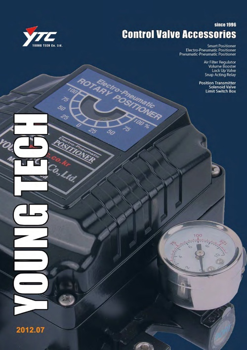 YoungTech Positioners and Limit Switches