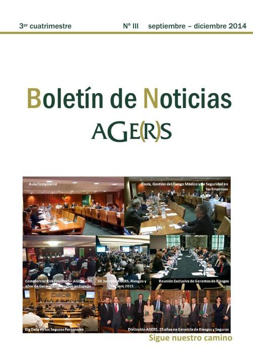 3er Boletín de Noticias AGERS