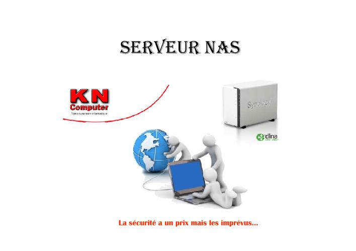 Serveur NAS - kncomputer.ch