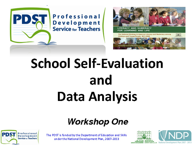 School Self Evaluation - Workshop 1