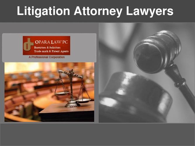 Litigation Attorney Lawyers