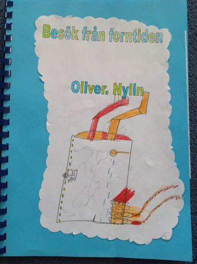 Oliver Nylin Besök från forntiden