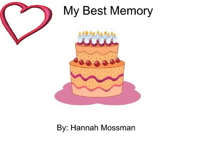 My Best Memory