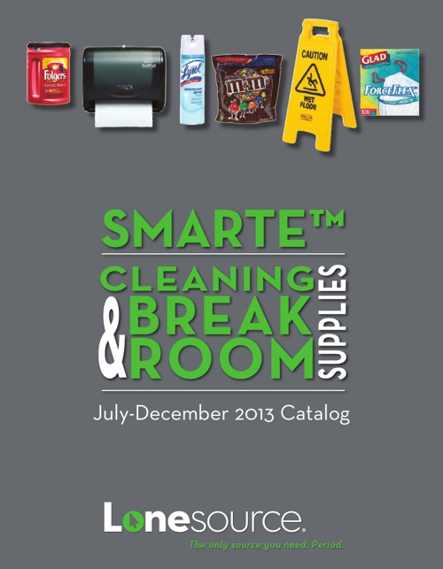 SMARTE Cleaning & Break Room Supplies Catalog July-Dec 2013