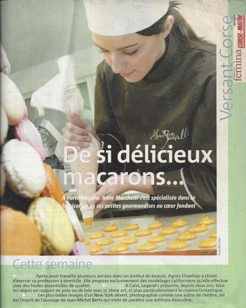 Femina décembre 2009 (n°298) - De si délicieux macarons ...