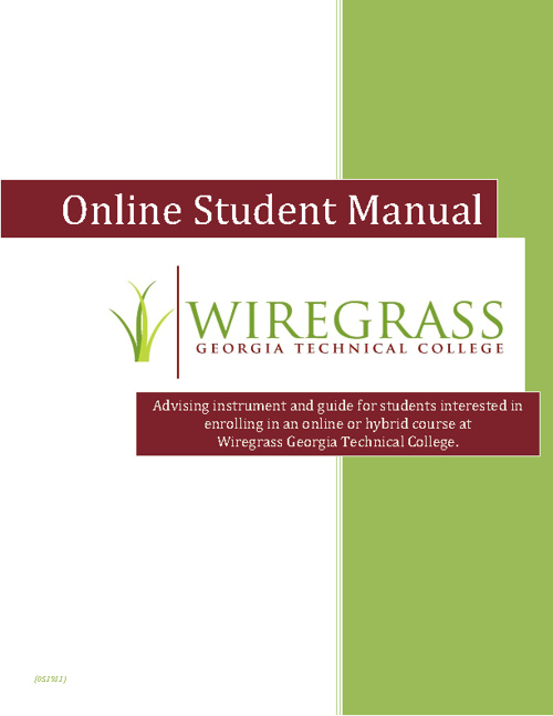 Online Student Manual
