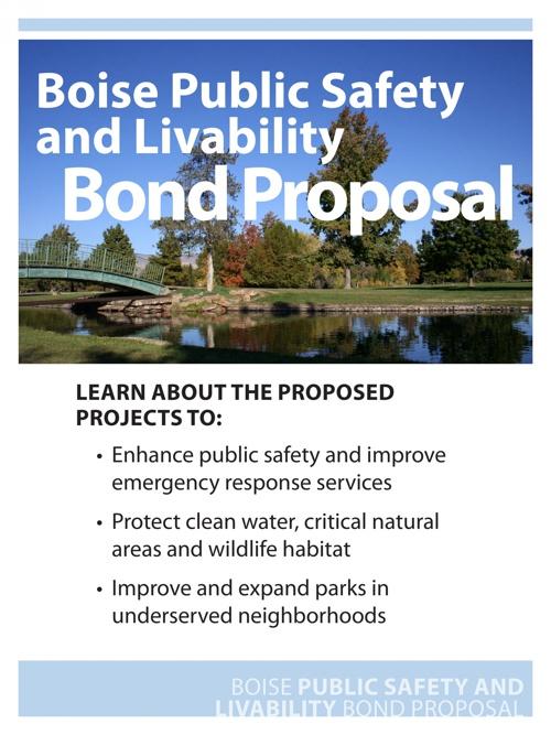 Boise Public Safety and Livability Bond Proposal