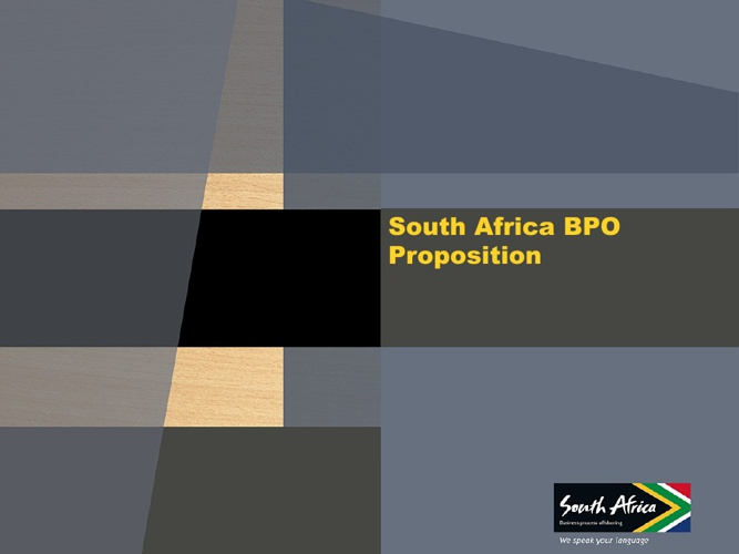 South Africa BPO Proposition