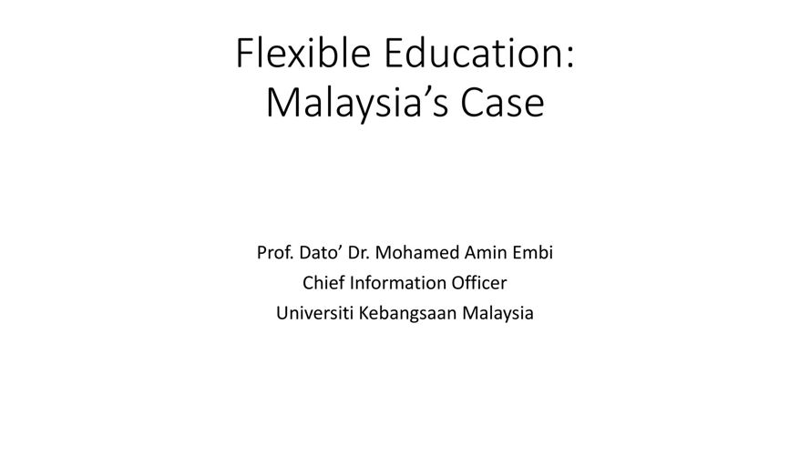 Flexible Education