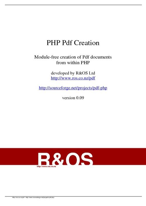 PDF with P