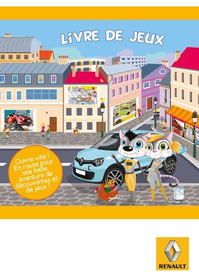 Livre de jeux Renault