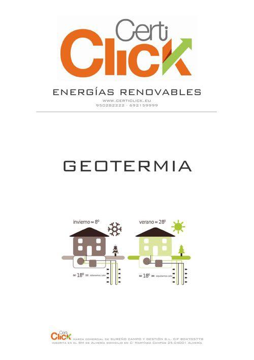 CertiClick ® Geotermia