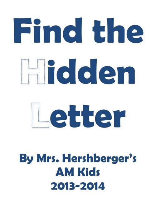 BA Mrs. Hershberger's AM hidden letter book