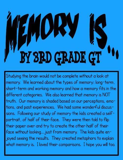 Memory Is...