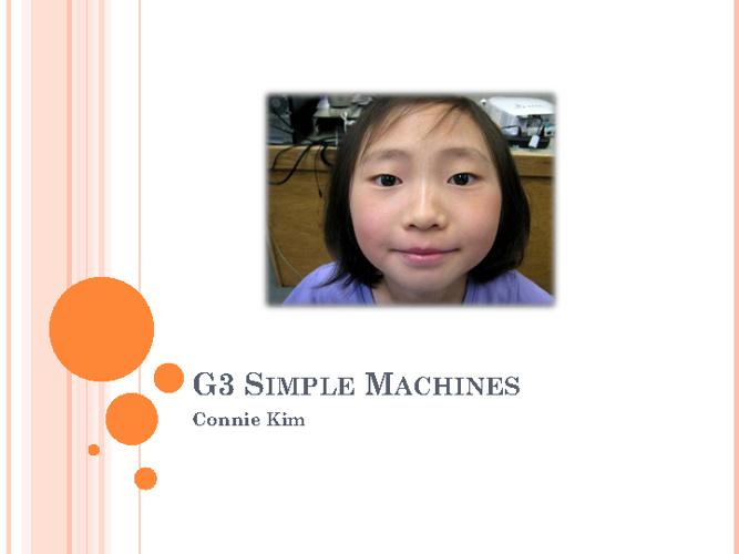 G3 SIMPLE MACHINES Stokoe