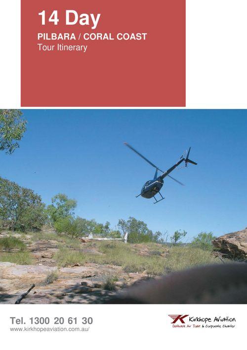Pilbara / Coral Coast WA 14 Day Tour Itinerary