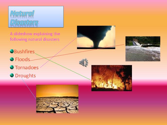 Natural Disaster - Diya & Tash