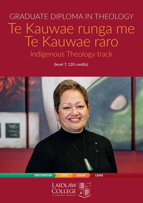Indigenous Theology Track Summary - 2017
