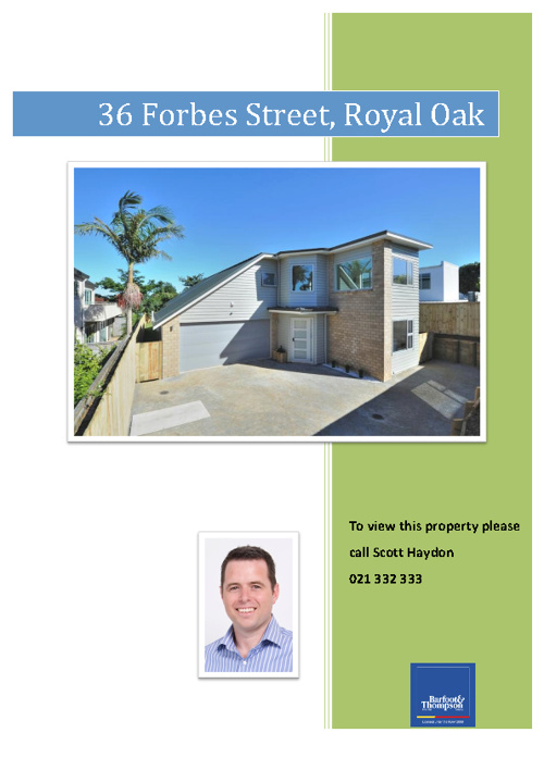 36 Forbes Street, Royal Oak