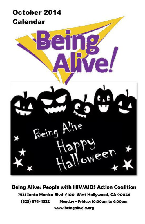 Being Alive Calendar October 2014