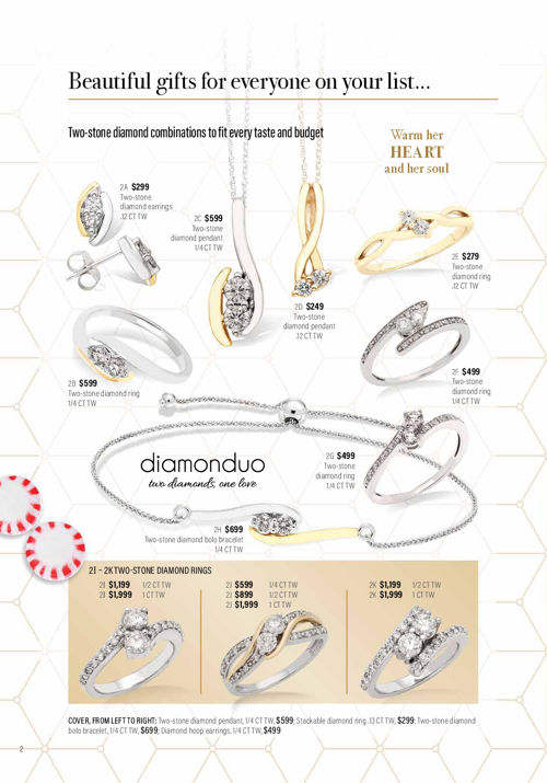 The Gold Mine Fine Jewelry & Gifts Holiday flyer 2017