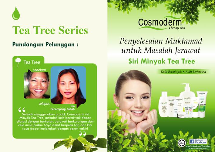 Cosmoderm E-Brochure Tea Tree Series