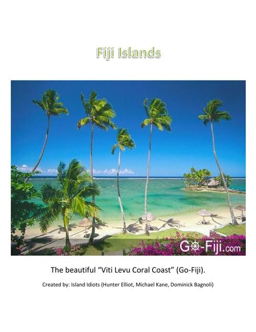 Fiji Islands Brochure