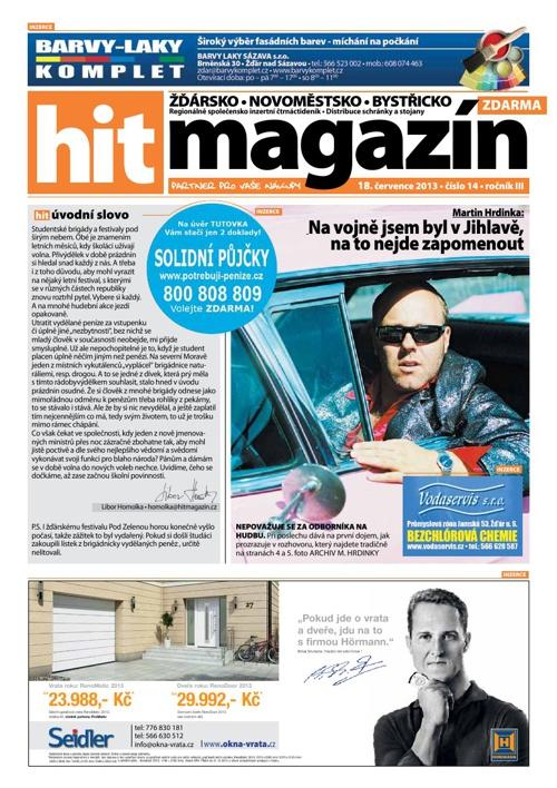 Hit magazín č.14 2013